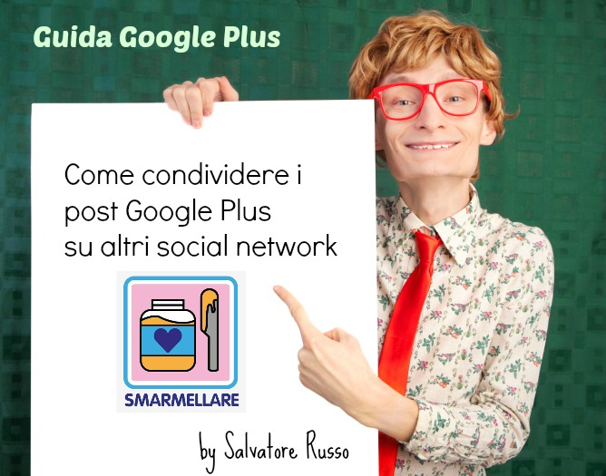 condividere google plus