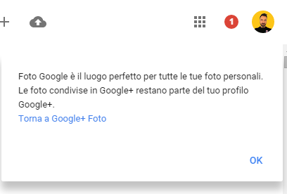 Google plus foto